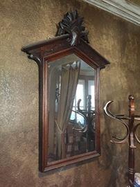 Antique Eastlake mirror