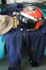 Flight Suit Helmet In Country Hat