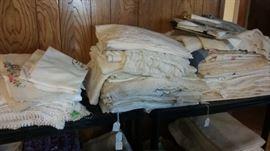 Antique and vintage linens