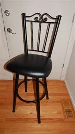 WROUGHT IRON BAR STOOLS...THERE ARE 3 OF THESE