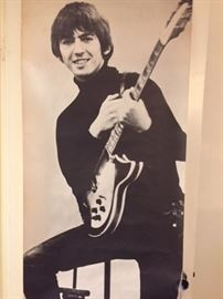 Life Size Beatles Poster of George Harrison