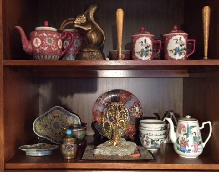 Asian motif decor