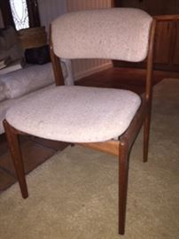 3 mid-century Benny Linden chairs