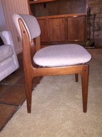 Mid Century Benny Linden Chairs  (side view)