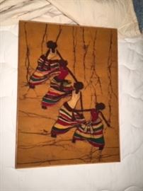 Batik - hand-made ink