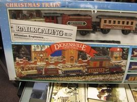 New in the box railroad set