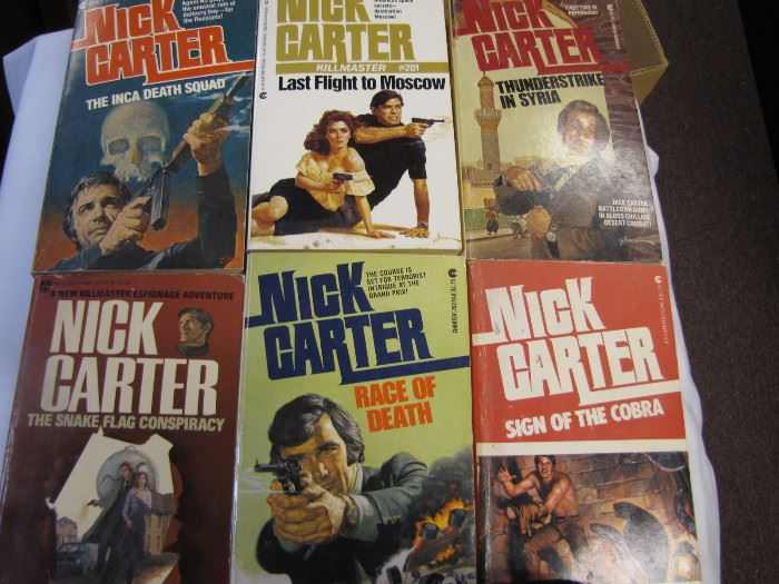 Whole Collection of Nick Carter Series