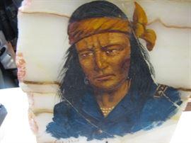 Painting on Sandstone