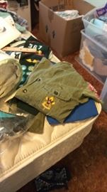 Vintage Boy Scout and Girl Scout items