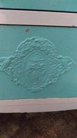 Antique dresser detail