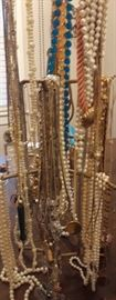 Lots and lots of costume jewelry to browse through.