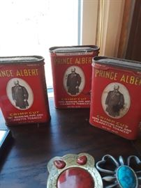 Prince Albert in a can, vintage.