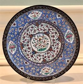 Turkish Enamel Plate