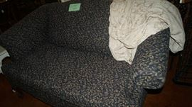 love seat with cover