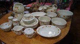 Hall Jewel Tea dishes