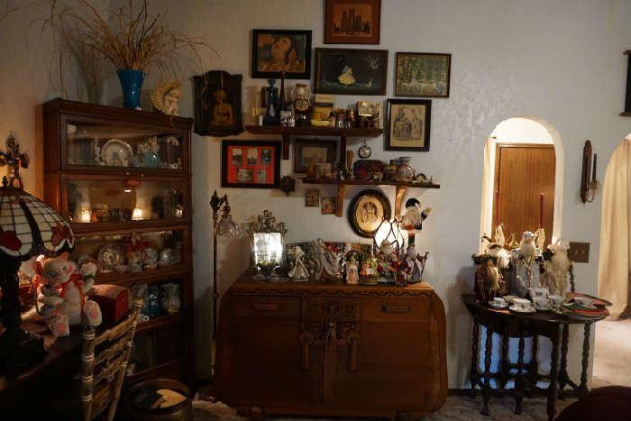 barrister bookcase, wall décor, buffet