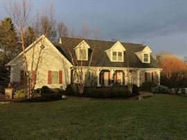 Beautiful Pittsford home will be for sale. Will have relator information at desk.
