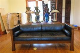 Maria Yee Leather Sofa