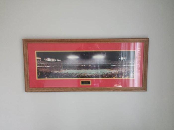 Arrowhead Stadium Framed Picture