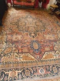 11x15 Antique Persian Rug