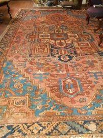 10x14  1890 Persian Serapi