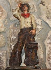 1970s Western Statue