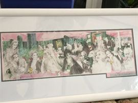 Leroy Neiman  Pencil signed Lithograph