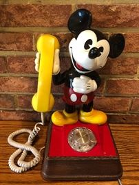 AT&T Mickey Mouse Rotary Phone