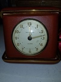 Vintage Everbrite Travel Time clock