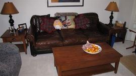 CLEAN -Living room furniture,   no pets or children - Restoration Hardware.
