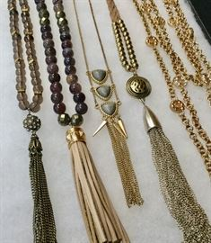 Beautiful collection of costume jewelry, accessories, handbags; Kendra Scott, Alexis Bittar, Brighton, Evereve, Kate Spade, Hobo. Prices range from $8-$30.