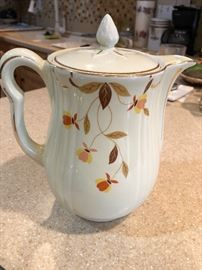Tea Leaf coffee pot