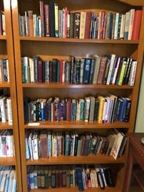 Books and bookcases, too!