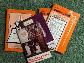 20th Century Christian, Gospel Advocates, Firm Foundation, The Spiritual Sword