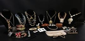 EB403G Costume Jewelry Ensemble, Jewelry Boxes, and More