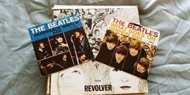 The Beatles - 45's and LP (Records)
