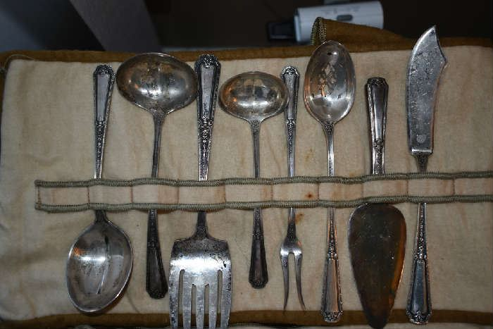 STERLING SERVING PIECES