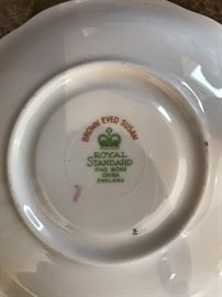 Who couldn't use a brown eyed Susan cup and saucer???