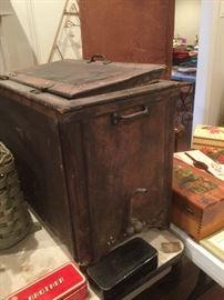 old ice box