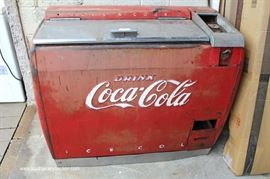 VINTAGE Coca Cola Chest Cooler with Original Paint  Located Dock – Auction Estimate $200-$400