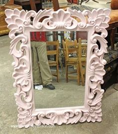 Highly Carved and Ornate Decorator Mirror  Located Inside – Auction Estimate $100-$200