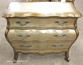 Bombay Poly Chrome Finish Decorator Contemporary Chest  Located Inside – Auction Estimate $100-$300