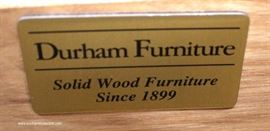 "SOLID Oak Low Chest by ""Durham Furniture""  Located Inside – Auction Estimate $300-$600"