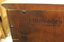 "2 Door Mahogany Silver Chest by ""Ethan Allen Furniture""  Located Inside – Auction Estimate $100-$200"