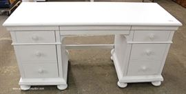 NEW White Painted Dressing Vanity  Located Inside – Auction Estimate $100-$300