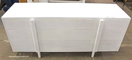 Modern Design NEW White Painted Chest  Located Inside – Auction Estimate $100-$300