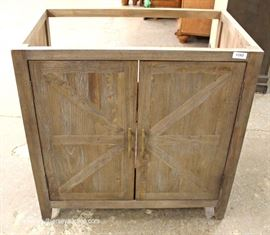 NEW Country Style Bathroom Sink Vanity with Faucet  Located Inside – Auction Estimate $100-$200