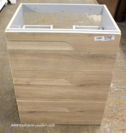 NEW Bathroom Base Cabinet  Located Inside – Auction Estimate $100-$300