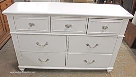 NEW 3 over 4 Drawer Chest  Located Inside – Auction Estimate $100-$300