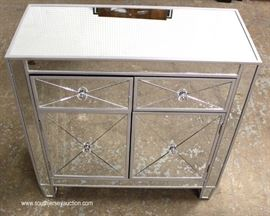Hollywood Mirrored Decorator Chest  Located Inside – Auction Estimate $100-$300